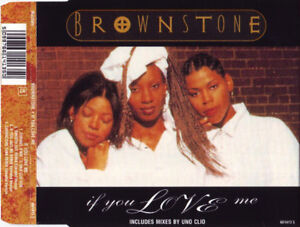 Brownstone-Maxi-CD-If-You-Love-Me-Europe-EX-EX