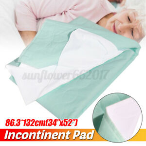 Washable-Reusable-Waterproof-Underpad-Bed-Pad-Incontinence-Mattress-Protectors