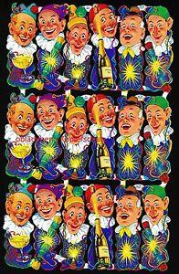 glanzbilder mlp 883 lustige clowns seltener fr her bogen von mlp rar ebay. Black Bedroom Furniture Sets. Home Design Ideas