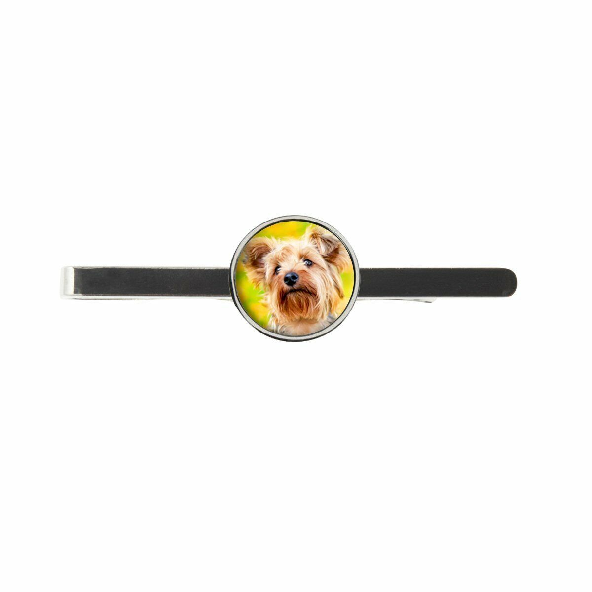 Yorkshire Terrier Mens Tie Slide Ideal Birthday Wedding Or Father Day Gift C435
