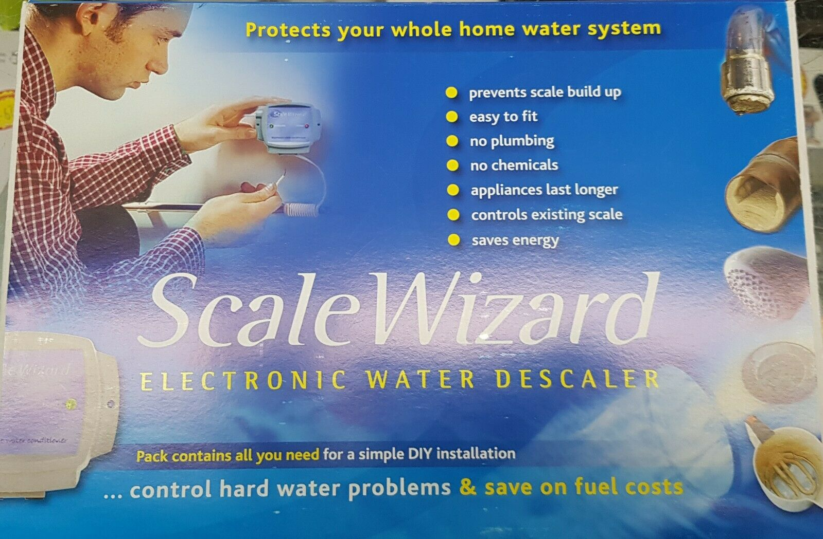 Scale Wizard Electronic Hard Water Descaler