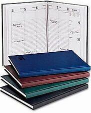 2018 Buchkalender A5 schwarz 1 Woche = 2 Seiten Kalender Wochenkalender Qualität