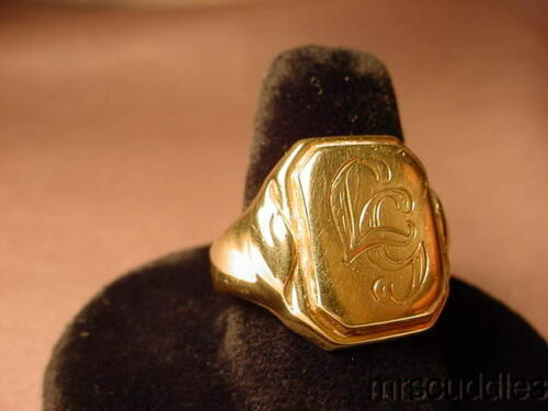 """14K YELLOW GOLD RING SIZE 9"""""""