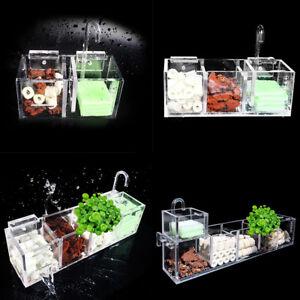 quarium-External-Filter-Fish-Tank-Filter-Box-without-Water-Pump-Water-Filte-NEW