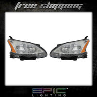 Fits Nissan Sentra 2013-14 Headlight Lamp Pair Left And Right Set