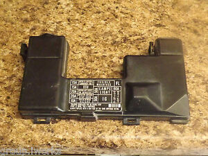OEM 88-91 USDM Honda Civic EF SH3 SH4 SH5 engine bay fuse box lid cover -  black | eBayeBay