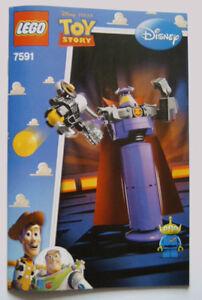 Amical Lego ® De Recette/instruction Nº 7591-afficher Le Titre D'origine DéLicieux Dans Le GoûT