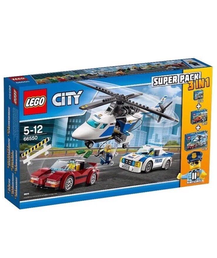 Lego Lego Lego City 66550, Lego City 3 In 1 , Brand NEW 3a7f3b