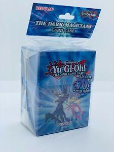 YUGIOH-The-Dark-Magicians-Deck-Box-Card-Case-Fur-70-Karten-Blau-Neu