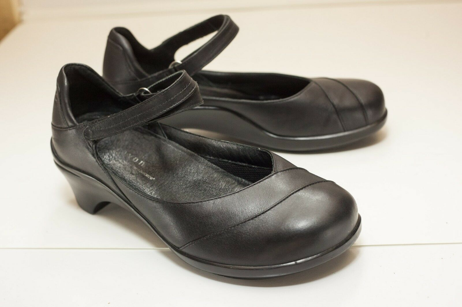 Aravon Aravon Aravon Maya US 7.5 D Black Mary Jane Women's 298ace