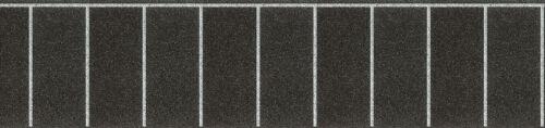 100 x 8 cm gerade Vollmer 46014 H0 Parkplatz-Folie Neu