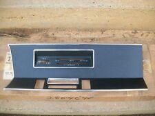 NOS MoPar 1969 69 Plymouth Valiant Signet Radio Heater Dash Bezel