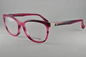 5f0ec6b4a55 Image is loading Calvin-Klein-Platinum-Eyeglasses-CK5879-480-Striped-Violet-