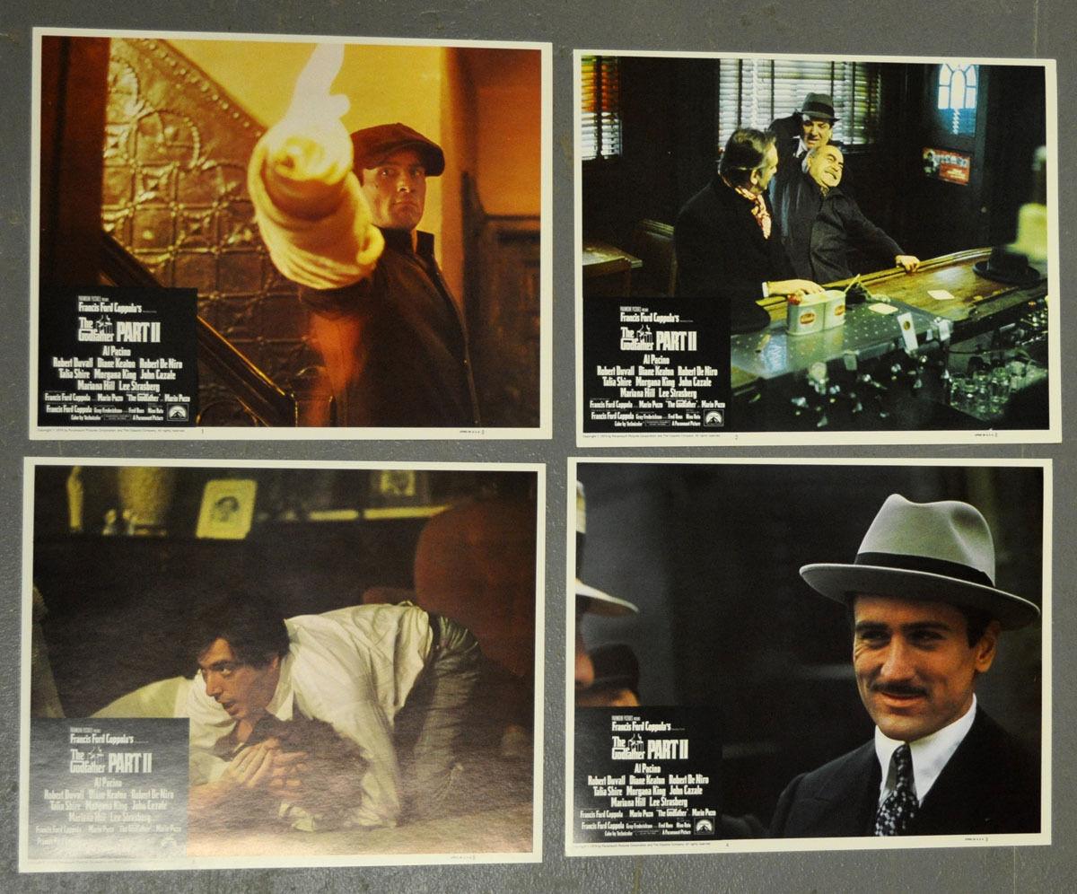 Pate Teil Ii 1974 Orig 11x14 Lobby Karte Robert De Niro Al