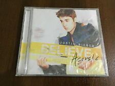 JUSTIN BIEBER BELIEVE ACOUSTIC - CD 11 TRACKS - 2013 - NEW SEALED NUEVO EMBALADO