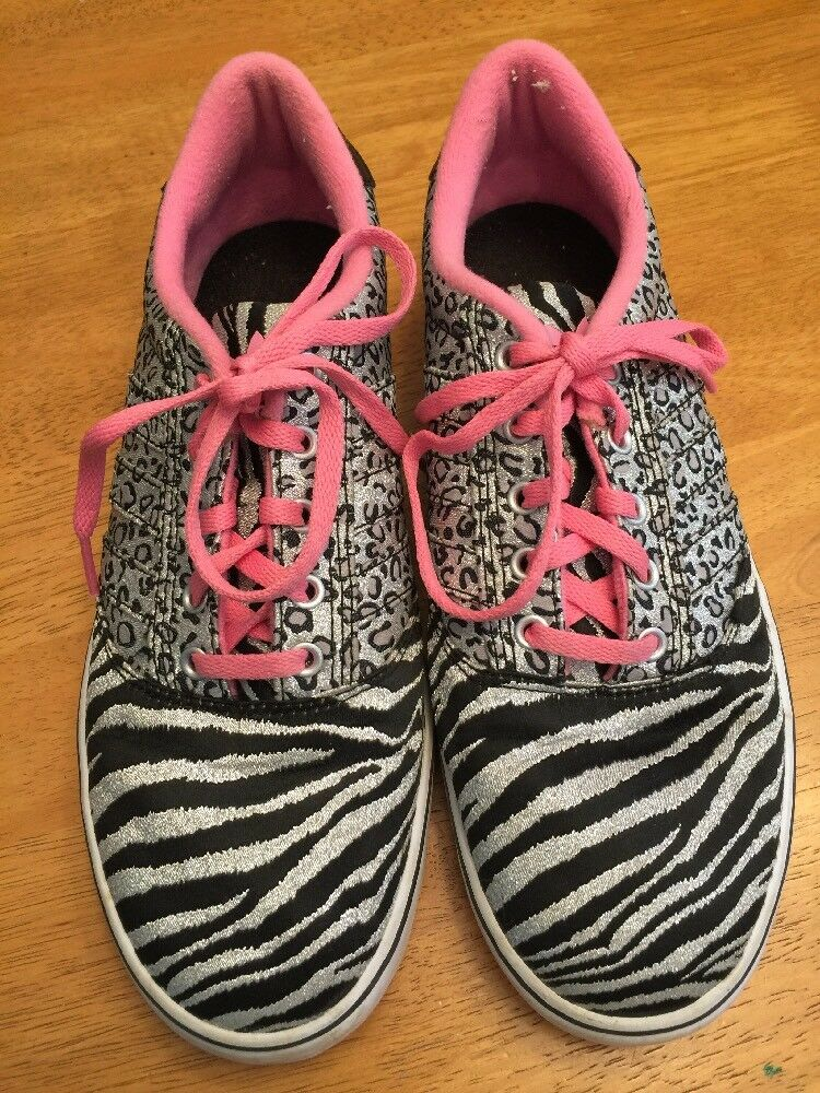 ADIDAS Zebra Jaguar Cheetah Silver Fashion Fashion Fashion Athletic Sneakers Women shoes Sz 9  e4246f