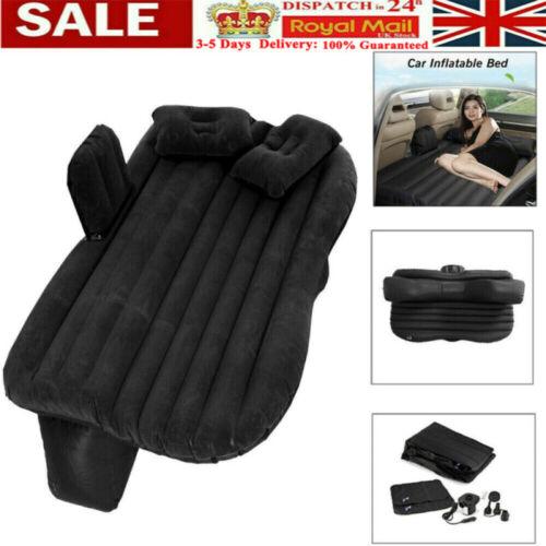 Universal Inflatable Travel Mattress Car Air Bed Cushion Camping SUV Back Seat B