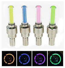 4 pieces LED Bike Car Motorcycle Wheel Tyre light - Valve Caps Flashing