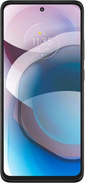 Motorola Moto One 5G Ace 2021 Unlocked 128GB Silver PALK0003US US Major Carriers