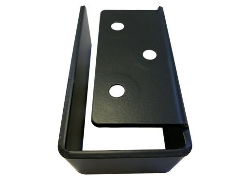 Stair Rail Holder Heavy Duty 2x4 End Cap Secure Bar Holder Door Barricades