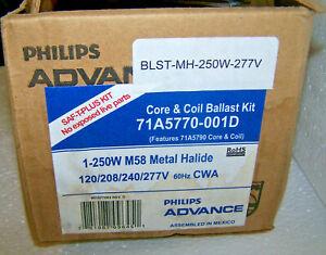 250 Watt Metal Halide Ballast Kit MH 250w M58 QUAD Tap 120-277 PHILIPS ADVANCE