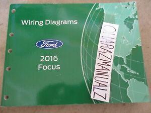 2016 Ford Focus Wiring Diagrams Manual OEM | eBay