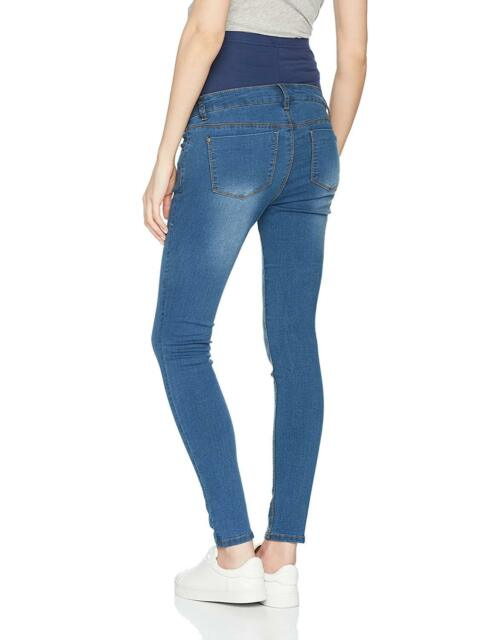 5cea2c452b Dorothy Perkins Maternity Forever Fit Over Bump Skinny Jeans UK 10 LF087 CC  25