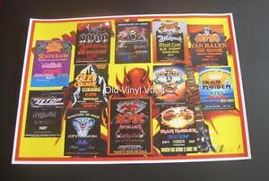 Image Is Loading Monsters Of Rock Concert Poster Donington Park UK