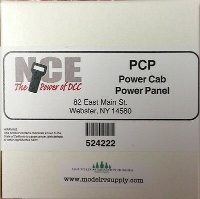 NCE 222 PCP Power Panel - Expand your Power Cab - DCC  524-222  modelrrsupply