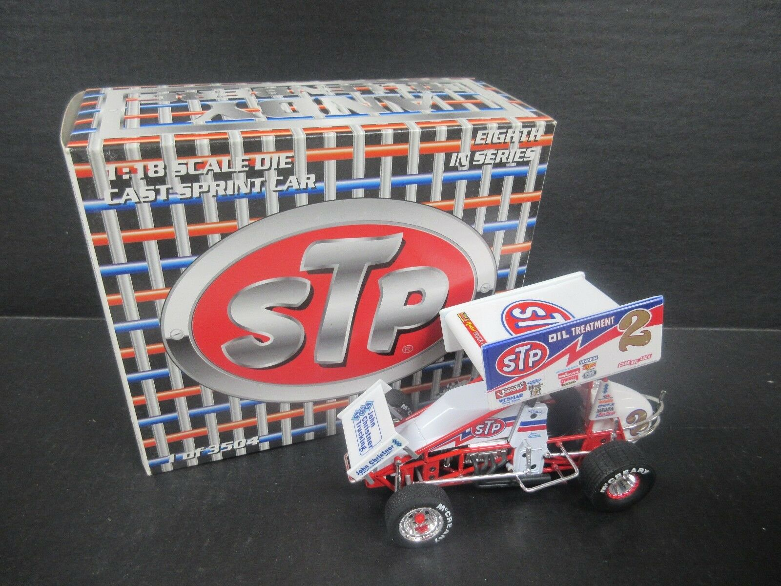 2 Andy Hillenburg 1 18th Scale Sprint Car