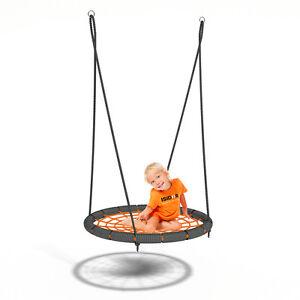 Nest Swing Spidy By Isidor - Balançoire Ronde XL avec 90 Cm de Diamètre