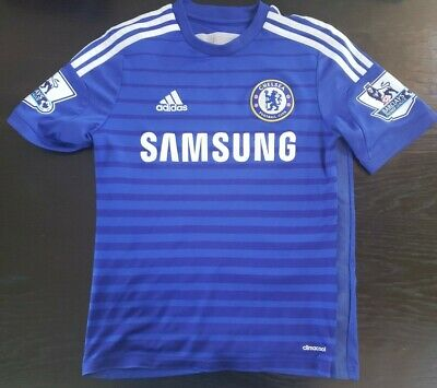 Kids Climacool Eden Hazard #10 Chelsea Jersey / 14 / Blue   eBay