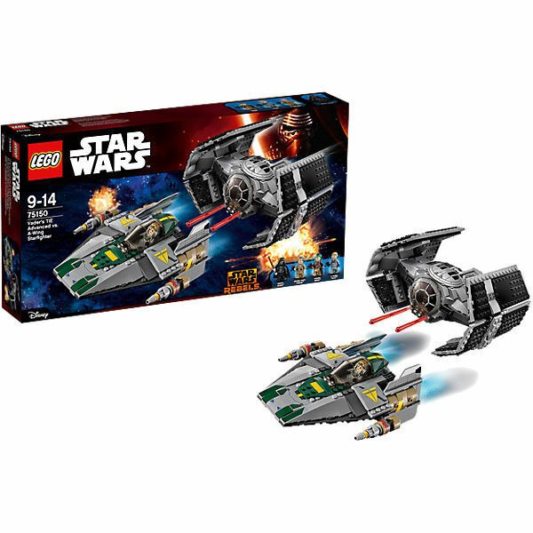 LEGO Star Wars (75150) Vader's TIE Advanced Vs A-Wing Fighter (New & Sealed) A