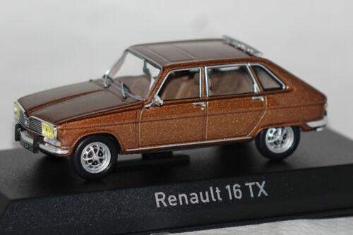 Renault 16 TX 1976 braun metallic 1:43 Norev neu /& OVP 511620