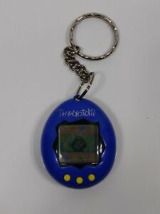 Image is loading vintage-Tamagotchi-Virtual-Pet-keychain -electronic-game-blue- 704cef0e0