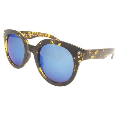 Retro Runde Damen Mode Sonnenbrille Brillen Schick Designer Rahmen Style