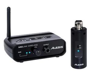 Alesis miclink wireless micrófono radio set dinámicamente