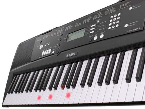 NEU Yamaha PSR-EZ220 Leuchttasten-Keyboard