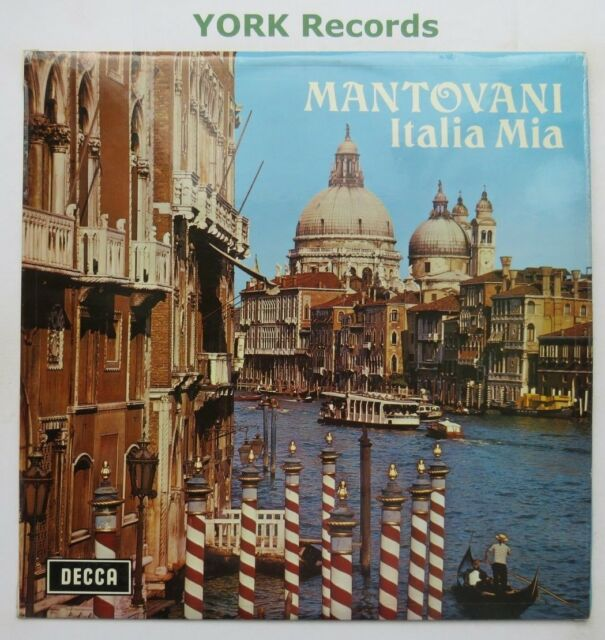 MANTOVANI - Italia Mia - Excellent Condition LP Record Decca SKL 4135