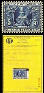 330-Mint-5c-SUPERB-OG-NH-GEM-With-PFC-A-Remarkable-Stamp