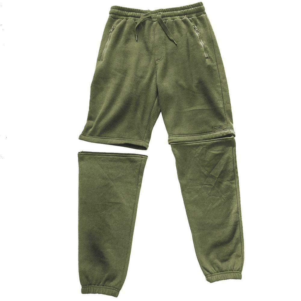 New Navitas Apparel Zip Off Joggers Jogga - All Sizes - Carp Fishing Clothing