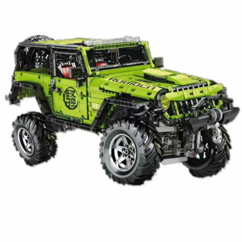 Jeep LAND CRUISER RC remote control MOC Super Sports SUV Technic Custom Block