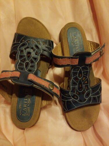 Spring Step L'Artiste Ulyana Sandals Sz 40 US 9-9.
