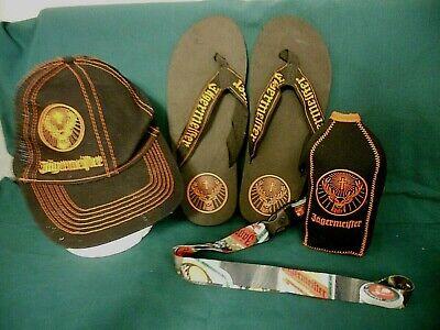 Brand New Fireball Whiskey /& Jägermeister Hats with Lanyard Never Worn!