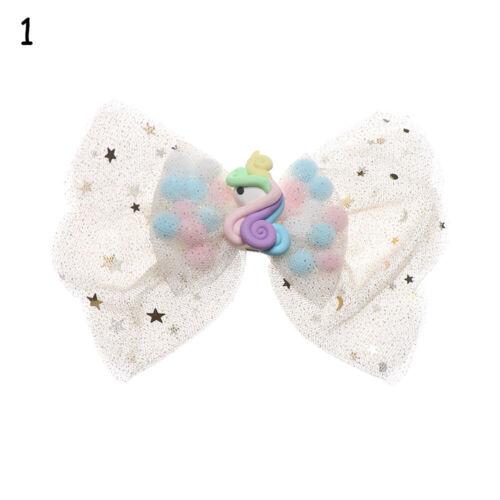 Hair Accessories Bow Hair Clip Cloud Mesh Hairpins Lollipop Headdress Rainbow