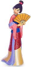 MULAN Disney GLITTER DRESS Princess PVC TOY Figure Birthday CAKE TOPPER FIGURINE
