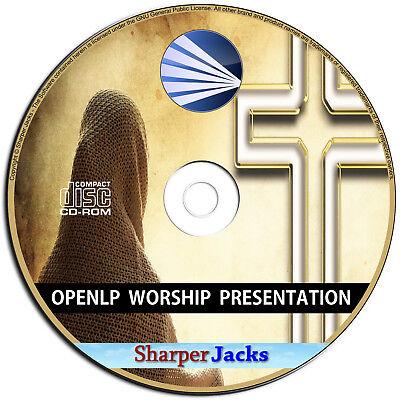 Angemessen Neu & Schneller Versand Openlp Church Worship Präsentations Bibel Software Extrem Effizient In Der WäRmeerhaltung Bild, Video & Audio Software