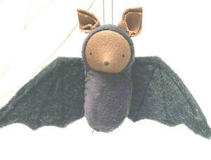 Bat Felt Hand Made Halloween Ornament