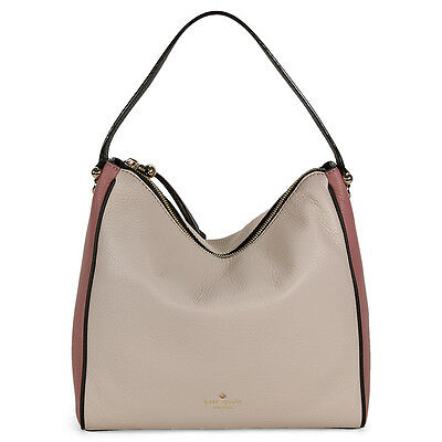 Kate Spade Charles Street Small Haven - Makeup Pink Black Pebble