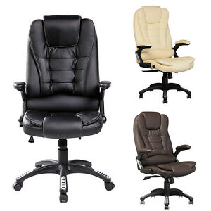 Image Is Loading Recliner Office Computer Chair Home High Back Double